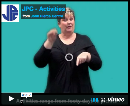 Play Auslan Signed version for the Community Video